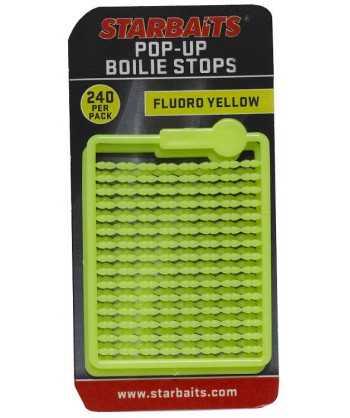 Bait Stopper Pop UP Fluo žlutá 240ks