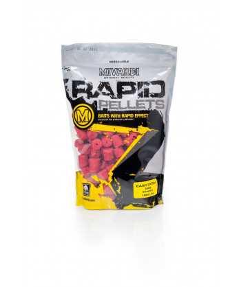 Pelety Rapid Easy Catch Jahoda 1 kg 4 mm