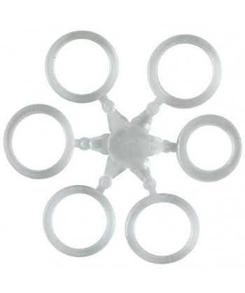 Elastické kroužky na nástrahy 10 mm