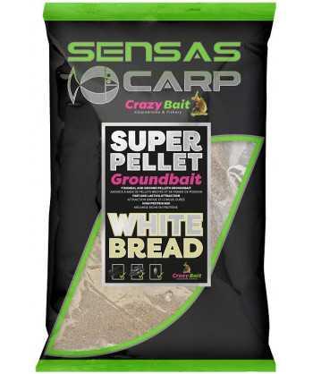 Krmení Crazy White Bread (sladký chléb) 1kg