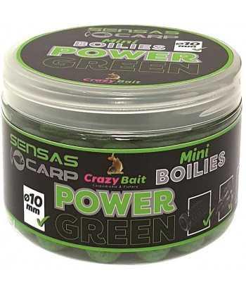 Mini Boilies Crazy Green (česnek) 80g