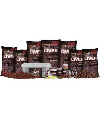 Red Liver Hard Boilies 24mm 200g