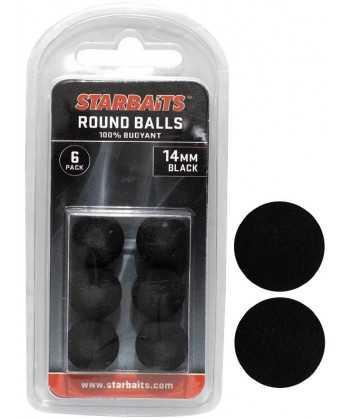 Round Balls 14mm černá (plovoucí kulička) 6ks