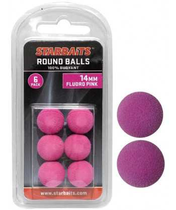 Round Balls 14mm růžová (plovoucí kulička) 6ks