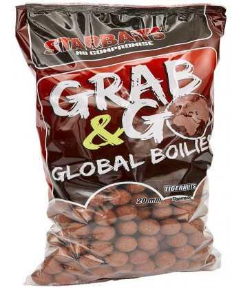 Global boilies TIGERNUT 20mm 10kg