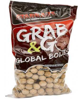 Global boilies SQUID & OCTOPUS 20mm 10kg