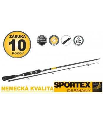 Přívlačové pruty SPORTEX Black Pearl GT-3 ultra light 240cm 2-8g