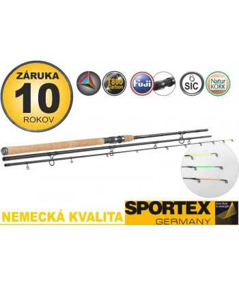 Sportex Xclusive Medium Light Feeder NT 390cm, 60-120g