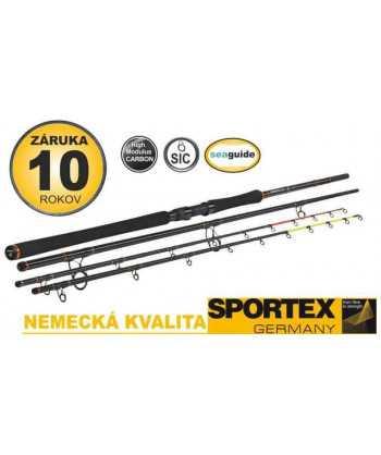 Sumcové pruty SPORTEX Catfire Feeder 3-díl 330cm 200g