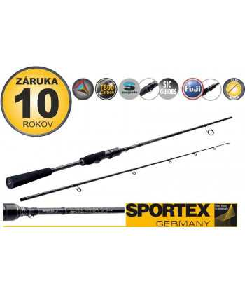Přívlačové pruty SPORTEX Black Arrow G-3 spin 2-díl 300cm / 100g