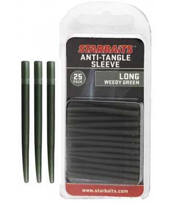 Anti Tangle Sleeve Long zelená 4cm (převleky) 25ks