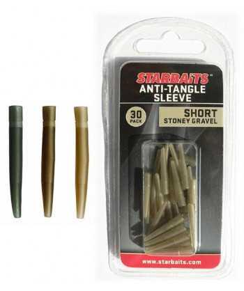 Anti Tangle Sleeve Short zelená 2cm (převleky) 30ks