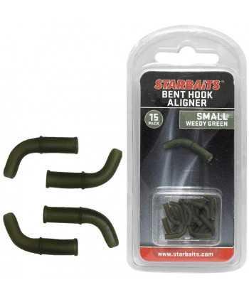 Bent Hook Small zelená (rovnátko) 15ks