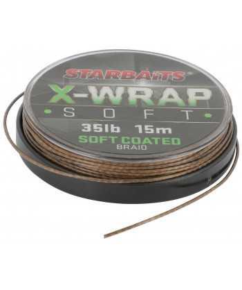 Šňůra X WRAP SOFT COATED 35LB 15m