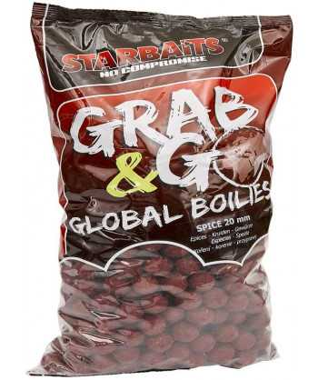 Global boilies SPICE 20mm 10kg
