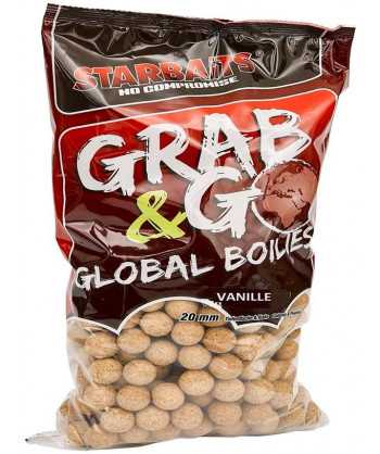 Global Boilies VANILLE 20mm 10kg
