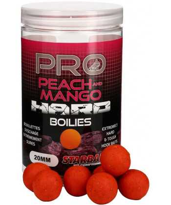 Pro Peach & Mango Hard Boilies 20mm 200g