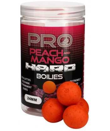 Pro Peach & Mango Hard Boilies 24mm 200g