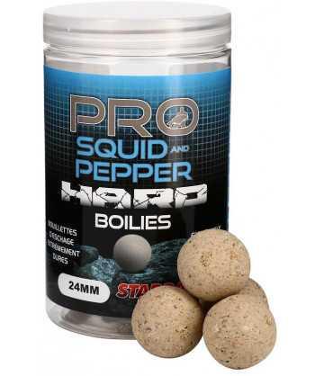 Pro Squid & Pepper Hard Boilies 24mm 200g