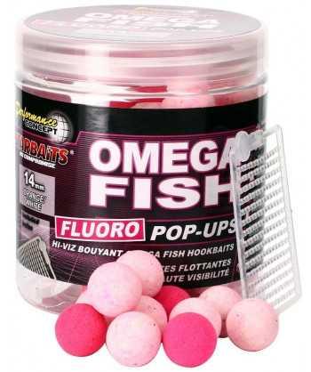 Omega Fish - Boilie FLUO plovoucí 80g 14mm
