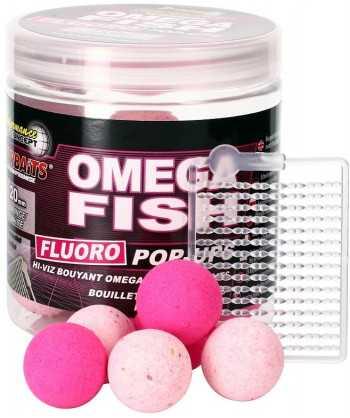 Omega Fish - Boilie FLUO plovoucí 80g 20mm