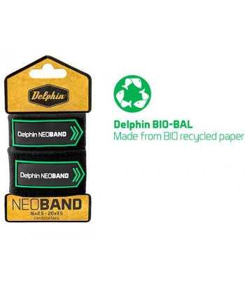 Sťahovací páska na prúty Delphin NEOBAND / 2ks