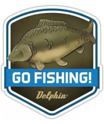 Nálepka GO FISHING!